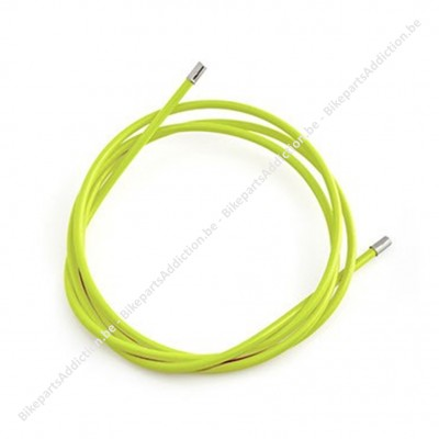 OUTER BRAKE CABLE - LIME GROEN